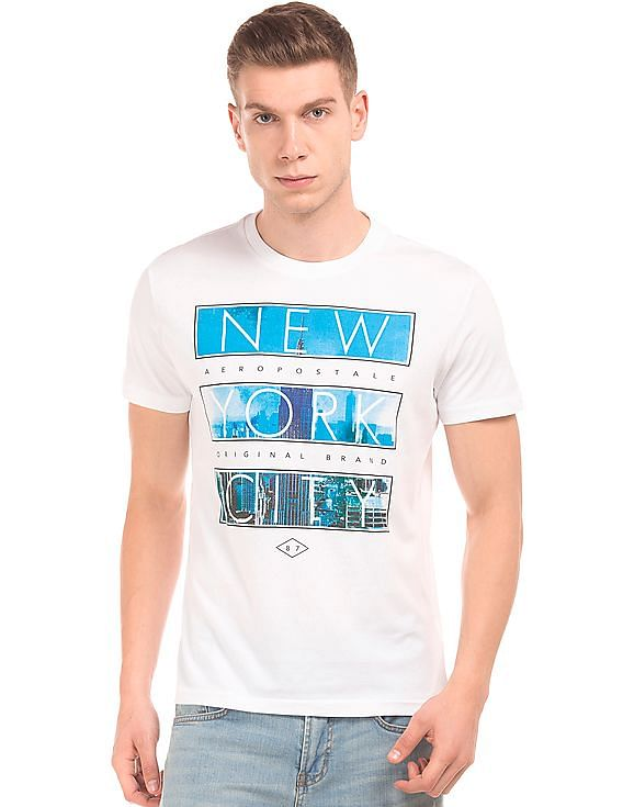 931a9fc670cdf2 Buy Men Graphic Print Crew Neck T-Shirt online at NNNOW.com