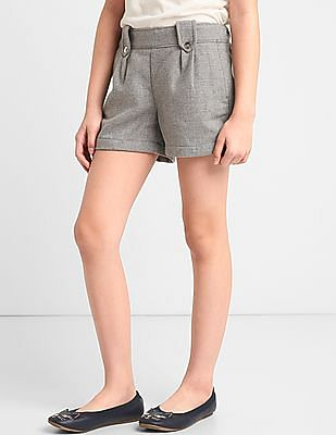 GAP Girls Button Sparkle Shorts