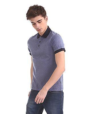 Nautica Short Sleeve Oxford Polo Shirt
