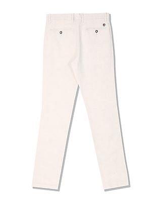 U.S. Polo Assn. Slim Fit Cotton Linen Trousers