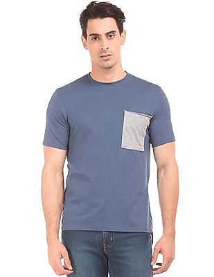 Colt Colour Blocked Crew Neck T-Shirt