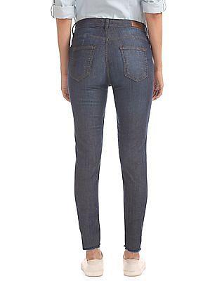 Flying Machine Women Super Skinny Fit Camo Jeans