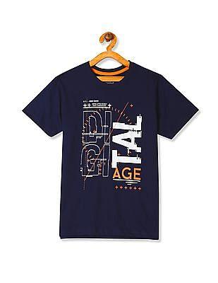 Cherokee Boys Short Sleeve Printed T-Shirt