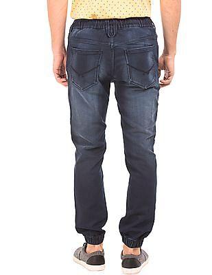 U.S. Polo Assn. Denim Co. Drawstring Waist Washed Jogger Jeans