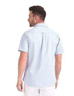 U.S. Polo Assn. Tailored Regular Fit Printed Shirt