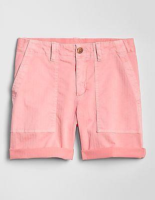 GAP Pink Girlfriend Chino Shorts