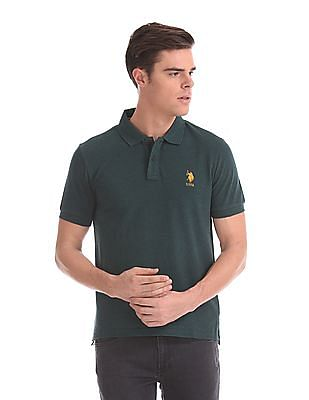 U.S. Polo Assn. Regular Fit Solid Polo Shirt