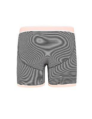Aeropostale Striped Knit Boxer Briefs