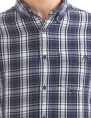 Aeropostale Check Button Down Shirt