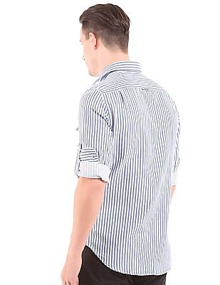 Gant Fitted Striped Oxford shirt