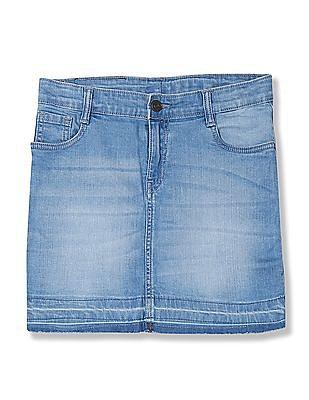Cherokee Girls Slim Fit Denim Skirt