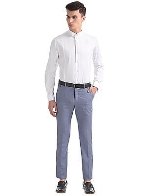 Arrow Regular Fit Wing Collar Shirt