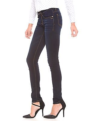 U.S. Polo Assn. Women Stone Wash Skinny Jeans