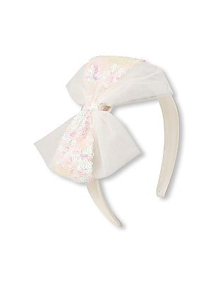 The Children's Place Girls Sequin Bow Headband