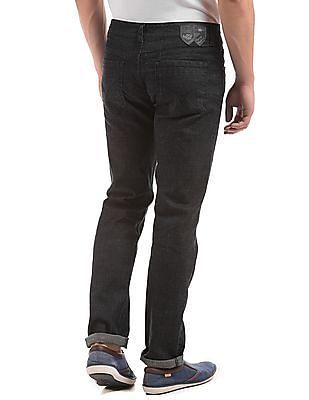 Flying Machine Slim Fit Dark Stone Wash Jeans