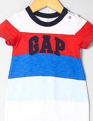 GAP Baby Striped Shorty One-Piece