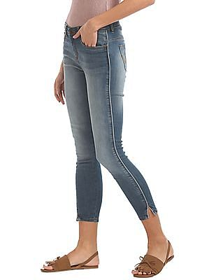 Elle Mid Rise Skinny Fit Jeans