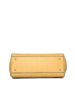 GUESS Detachable Strap Embossed Hand Bag