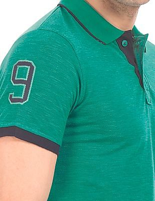 Roots by Ruggers Solid Regular Fit Polo Shirt