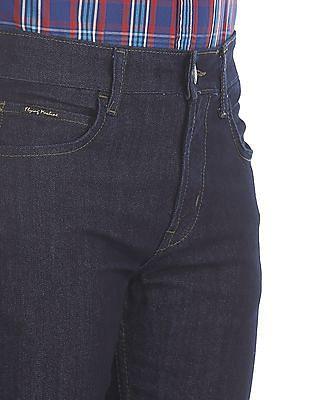 Flying Machine Blue Slim Fit Dark Wash Jeans