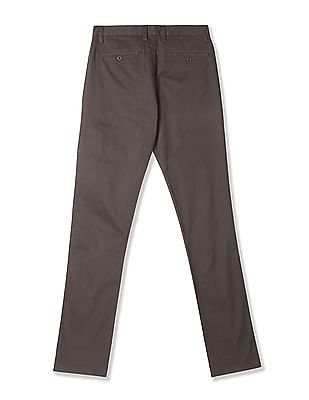 Izod Slim Fit Cotton Trousers