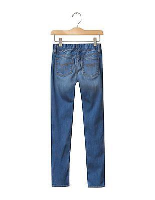 GAP Girls Blue 1969 Pull On Legging Jeans