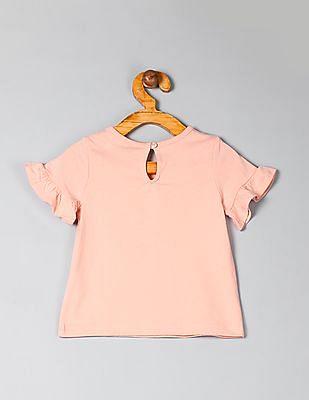 GAP Baby Graphic Ruffle T-Shirt
