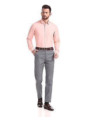 Excalibur Long Sleeve Patterned Stripe Shirt - Pack Of 2