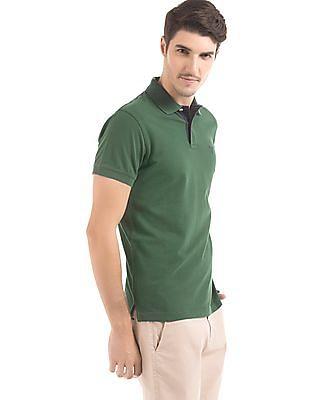 Gant Contrast Placket Pique Polo Shirt