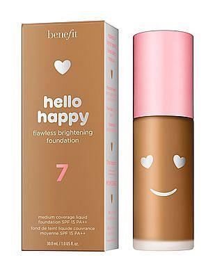 Benefit Cosmetics Hello Happy Flawless Liquid Foundation - Shade 07