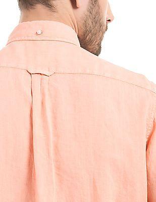 Gant Regular Fit Linen Shirt