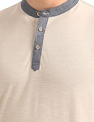 Cherokee Slim Fit Henley T-Shirt