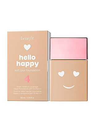 Benefit Cosmetics Hello Happy Soft Blur Foundation - 4