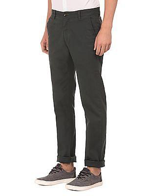 Arrow Sports Slim Fit Cotton Lycra Chinos