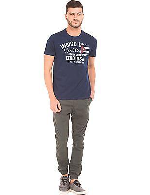 Izod Printed Front Slim Fit T-Shirt