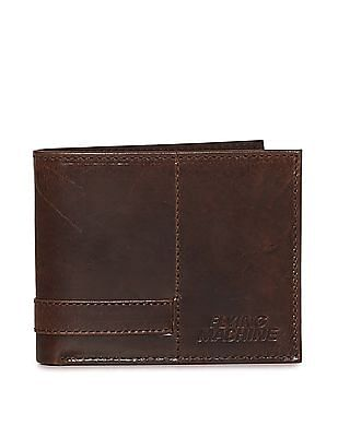 Flying Machine Bi Fold Panelled Wallet