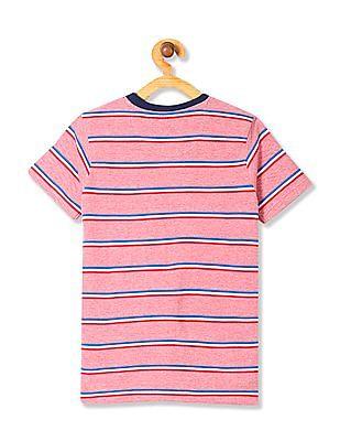 Cherokee Boys Stripe Pique T-Shirt