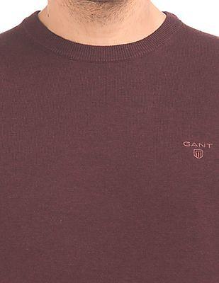 Gant Regular Fit Crew Neck Sweater