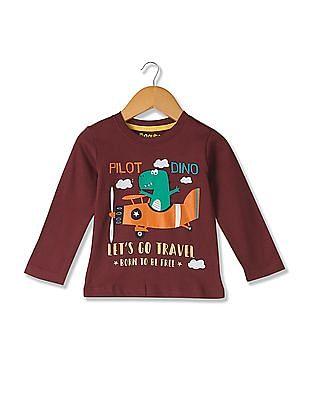 Donuts Boys Long Sleeve Knit T-Shirt