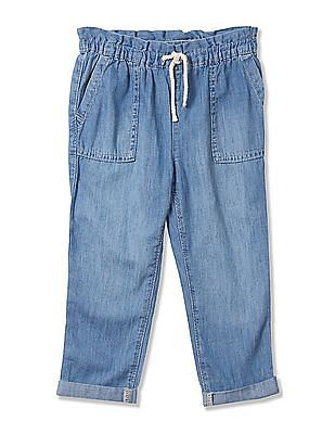 GAP Baby Blue Wearlight Pull-On Jeans