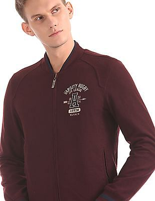 Arrow Sports Reversible Bomber Jacket