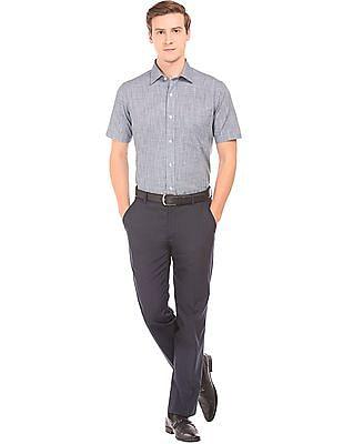 Arrow Short Sleeve Puppytooth Shirt