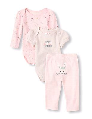 The Children's Place Baby Girls Bunny Playset