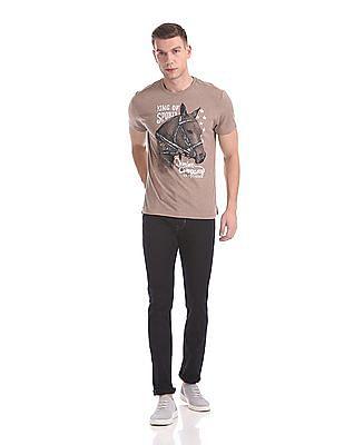 U.S. Polo Assn. Denim Co. Regular Fit Brand Graphic T-Shirt