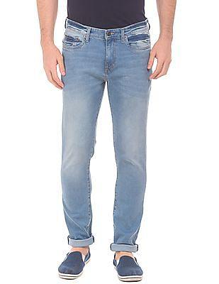 Aeropostale Stone Wash Slim Straight Fit Jeans