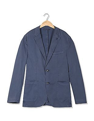 U.S. Polo Assn. Printed Single Breasted Blazer