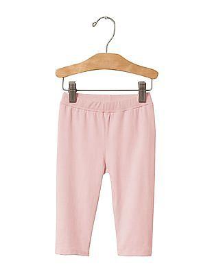 GAP Baby Pink Cropped Leggings