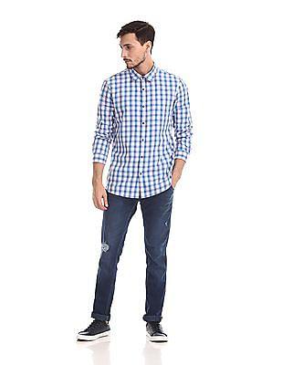 Ruggers Long Sleeves Check Shirt