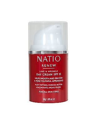 NATIO Line And Wrinkle Day Cream SPF 15