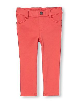 The Children's Place Toddler Girl Solid Knit Jeggings